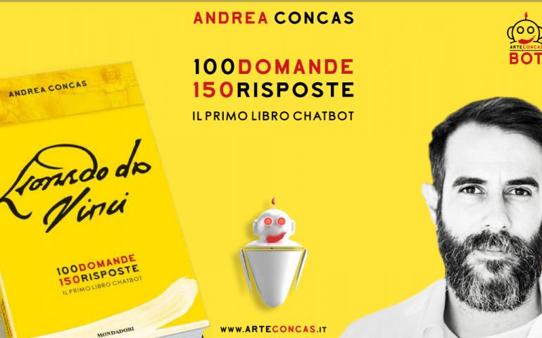 Nasce il primo chatbot, dall'idea di Andrea Concas un libro modernissimo su Leonardo