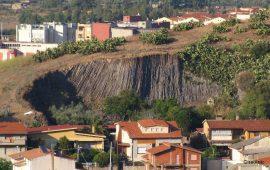 La cava dei Basalti Colonnari di Guspini