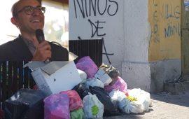 Truzzu sui rifiuti a Cagliari