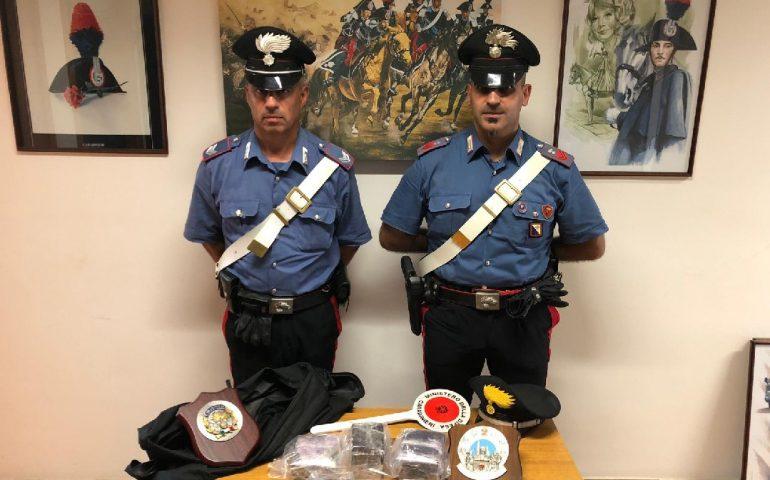Quartu, oltre 3 kg di hashish nascosti in casa: spacciatore di 27 anni in manette
