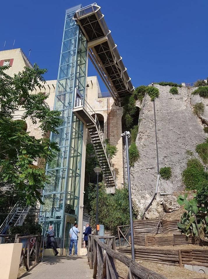 Il collaudo degli ascensori di Castello