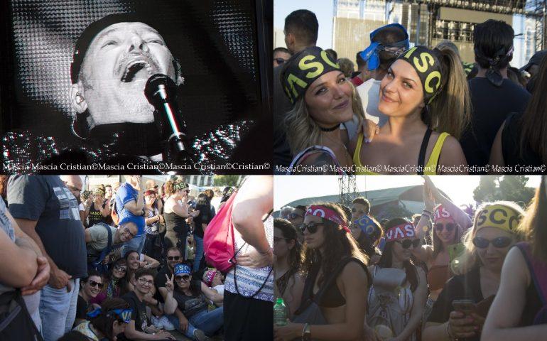 (PHOTOGALLERY) L'appassionato popolo di Vasco Rossi nelle foto di Cristian Mascia