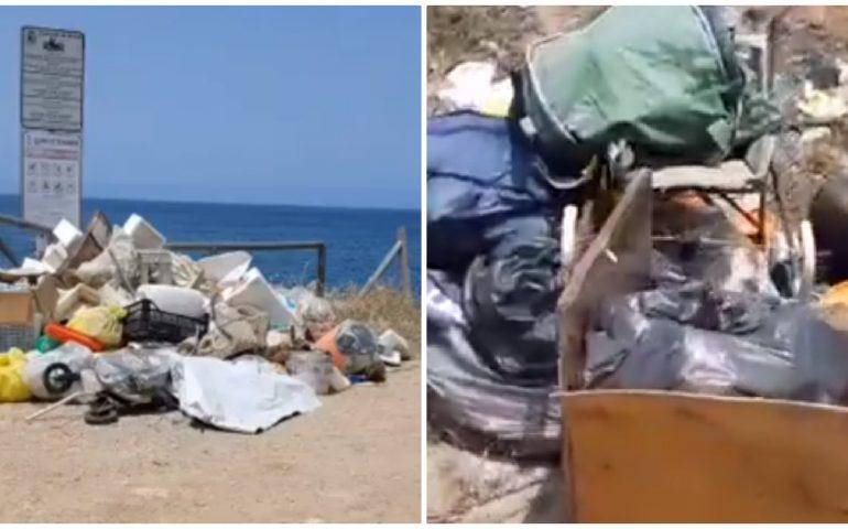 (VIDEO) Porto Palma e la discarica a cielo aperto fronte mare
