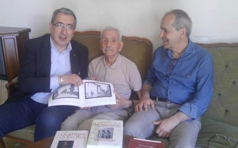 L'ingegner Vinicio Perra, nonnino di Mandas, compie 100 anni