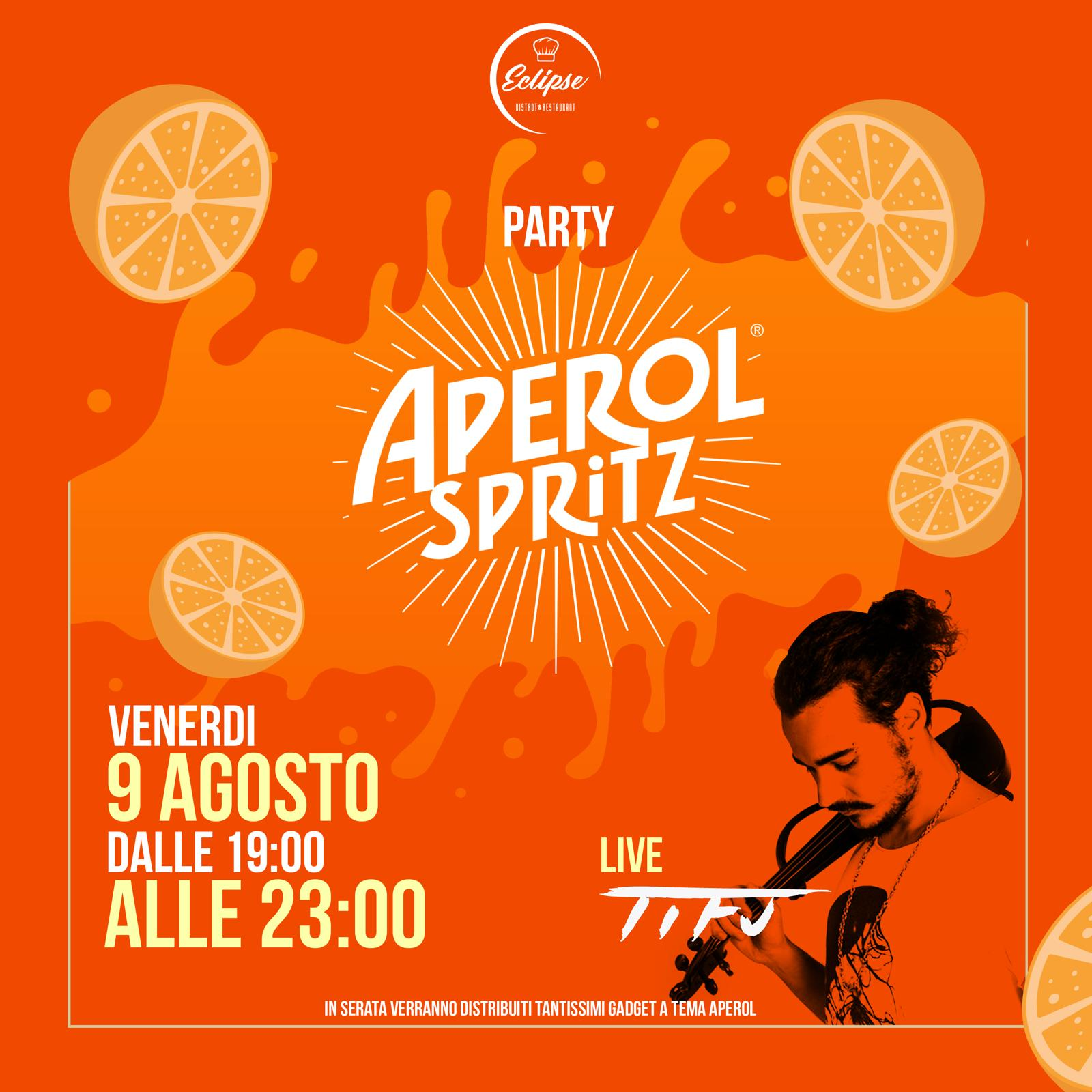 Aperol Party da Eclipse