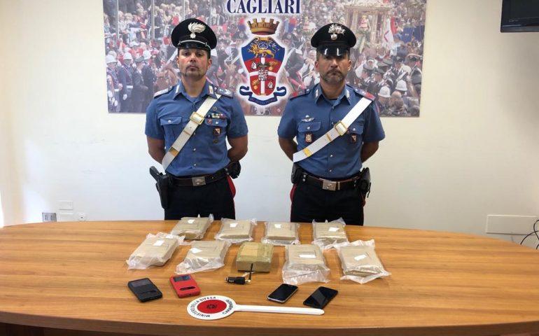 San Sperate, 11 kg di cocaina nascosti nell'auto: arrestata una coppia di corrieri sulla 131