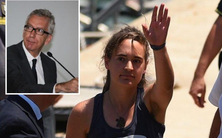 """Sea Watch, Pigliaru: """"Carola libera, Salvini nervoso. Bella giornata"""""""