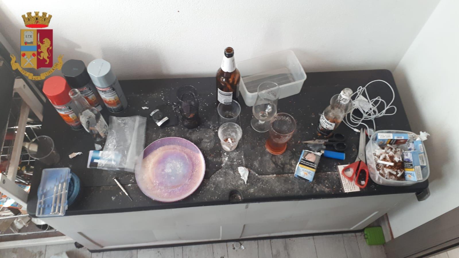 Cocaina e denaro in contanti sequestrati a Elmas