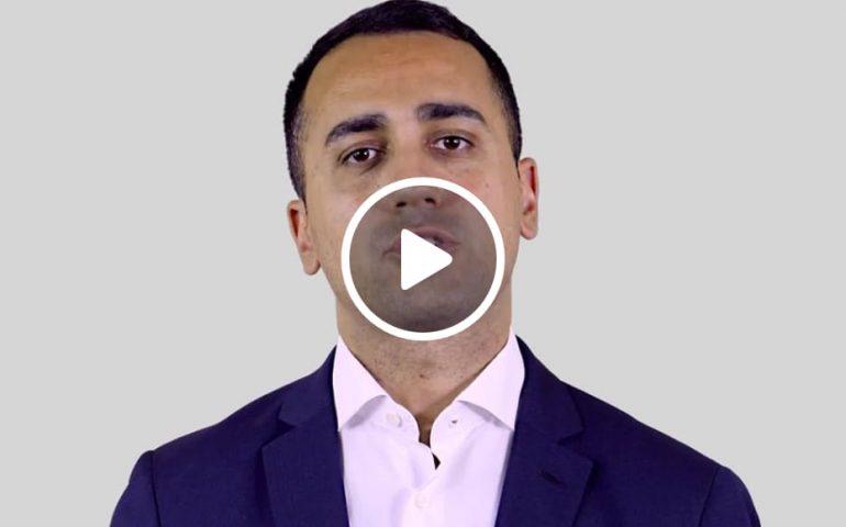 """(VIDEO) Di Maio: """"Grazie al M5S niente più bombe sarde in Yemen"""""""