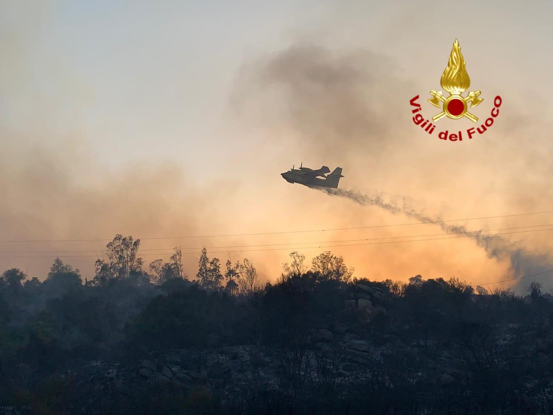 Roghi in Sardegna. La solidarietà dell'Anci alle comunità colpite dai devastanti incendi