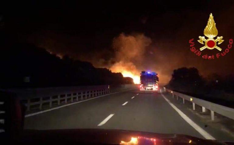 Anche domani allerta incendi elevata in tutta la Sardegna