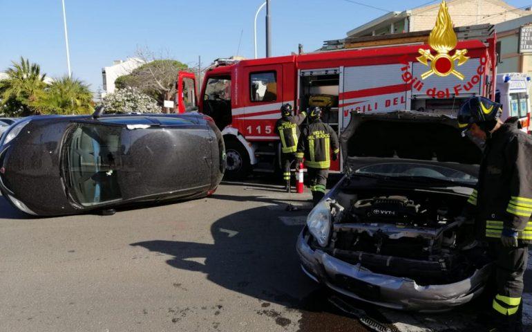 Quartucciu: scontro frontale tra due auto