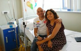 Ivano Argiolas e Francesca Piu