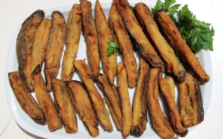 """La ricetta di Vistanet: """"Maccion'e Sestu"""", melanzane come fossero una frittura di pesce"""