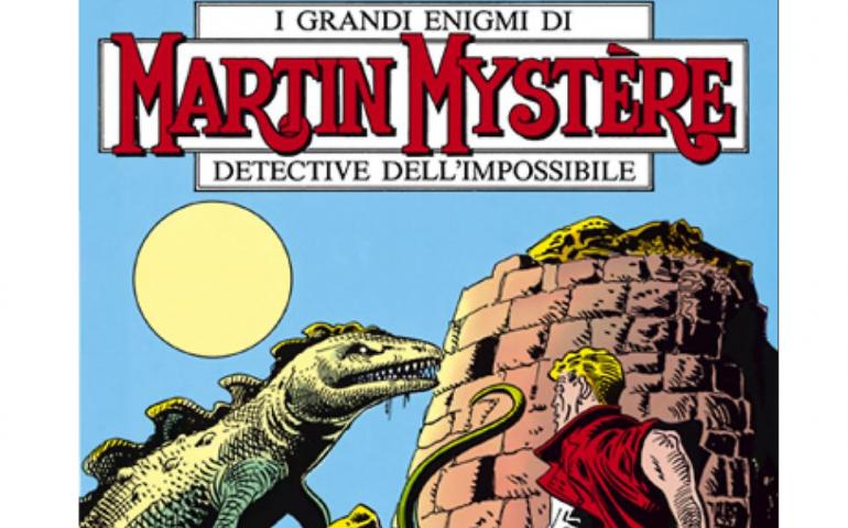 """Lo sapevate? Una storia di Martin Mystere fu ambientata in Sardegna: """"Il Mistero del Nuraghe"""""""