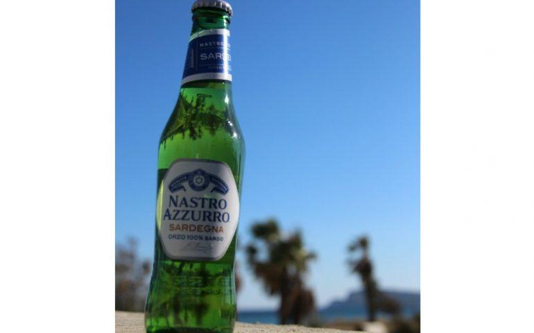 Nasce la birra col nuraghe: la Nastro Azzurro Sardegna, col malto d'orzo 100% sardo