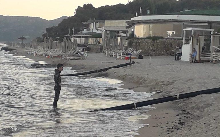 """Forte Village. Il GrIG denuncia: """"Ripascimento fai da te nella spiaggia esclusiva?"""""""