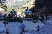 Si perde nel sentiero per Cala Mariolu. Escursionista riesce a dare l'allarme e viene tratto in salvo dal Soccorso Alpino e Speleologico