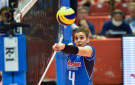 C'è anche l'oristanese Alessia Orro tra le convocate in Nazionale agli Europei di pallavolo