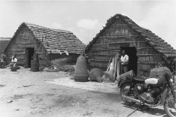 Lo sapevate? Sino agli anni '80 a San Giovanni di Sinis c'era un villaggio di capanne di falasco