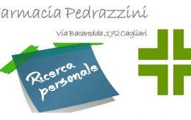 LAVORO a Cagliari. La farmacia Pedrazzini di via Bacaredda cerca personale