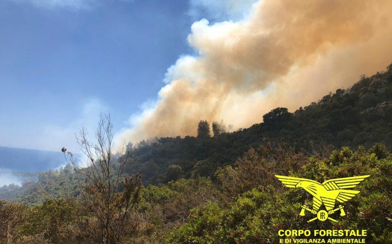 Ferragosto sardo contrassegnato dal fuoco intanto anche oggi allerta incendi nel cagliaritano