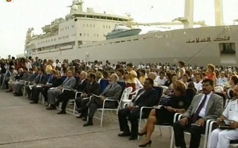 Accadde oggi: 24 agosto 1996, il Sultano dell'Oman è a Cagliari, con 30 mercedes, 2 panfili e più di mille persone al seguito