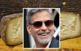 George Clooney pazzo per il pecorino sardo: l'attore pronto a importare il formaggio negli USA