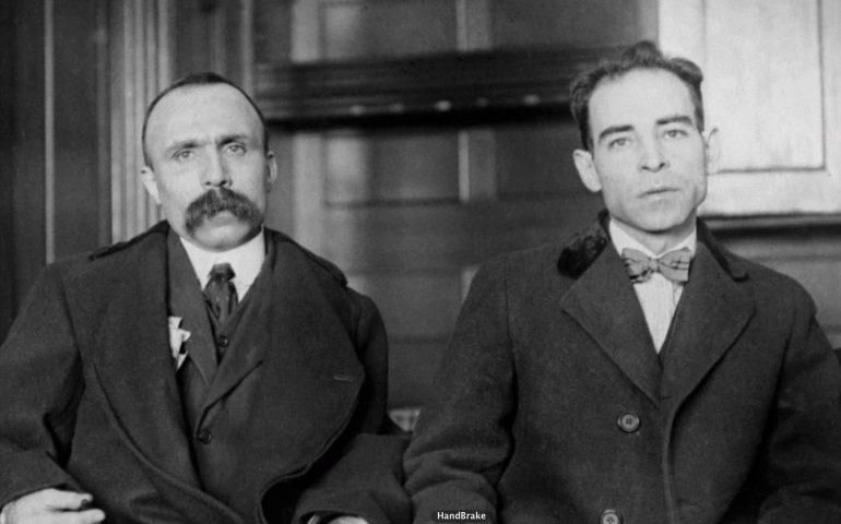 Accadde oggi: 23 agosto 1927, Sacco e Vanzetti giustiziati da innocenti in America
