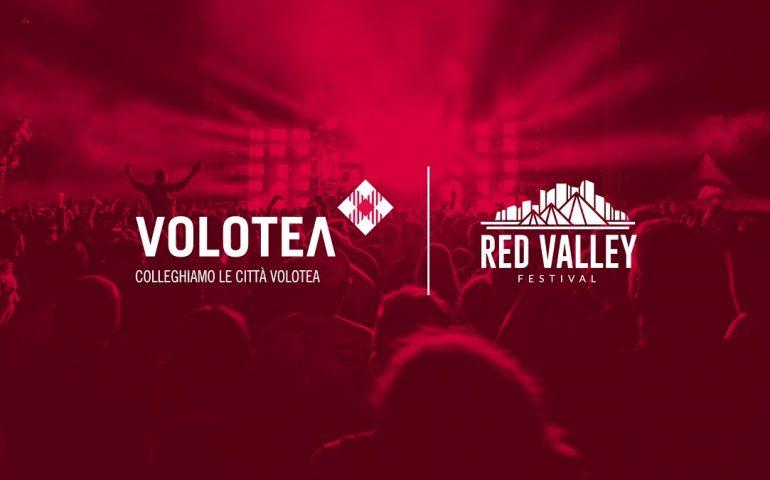 Red Valley Festival. Volotea partner dell'evento: fast line per chi viaggia con la compagnia aerea spagnola