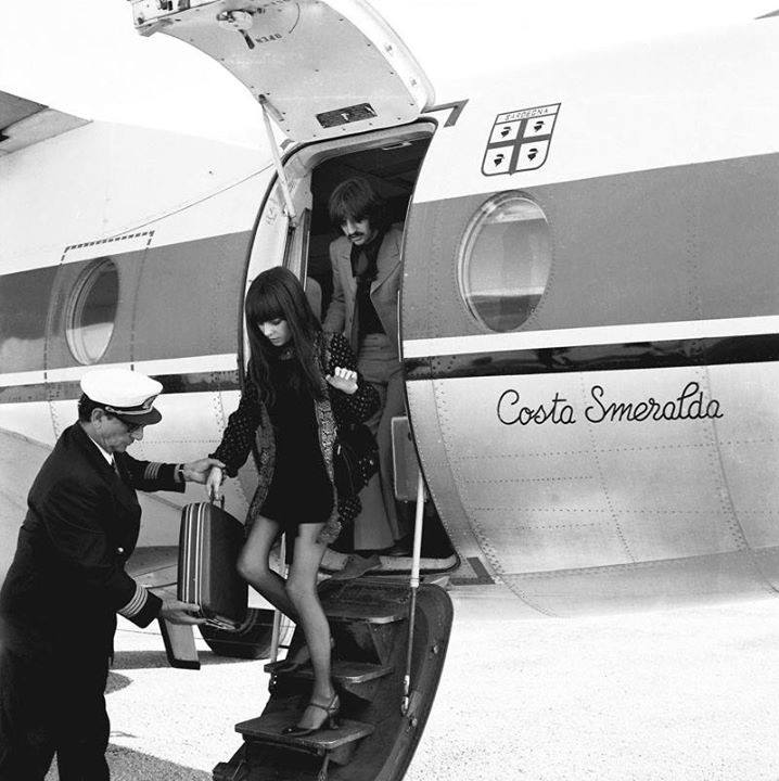 Ringo Starr atterra all'aeroporto di Olbia - Foto Nello Di Salvo - Archivio Cover Media