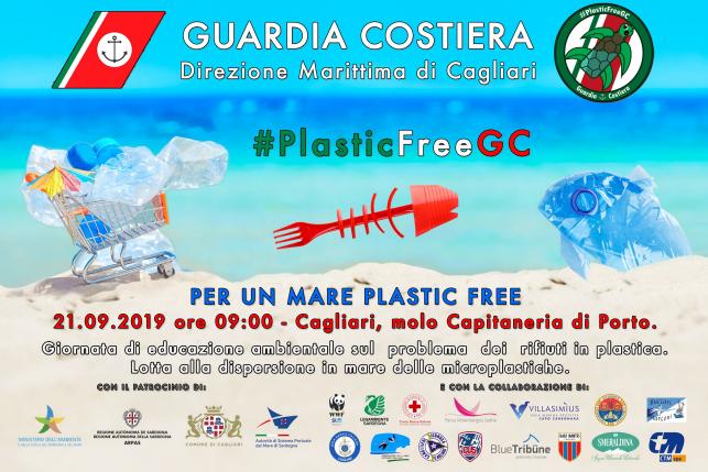 Anche Cagliari contro la plastica aderisce alla giornata #plasticfree: kit-pulizia per tutti sabato 21 settembre