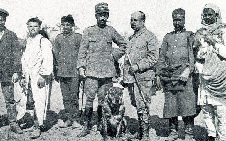 Lo sapevate? I 100 cani sardi che partirono accanto ai soldati per la guerra Italo-Libica
