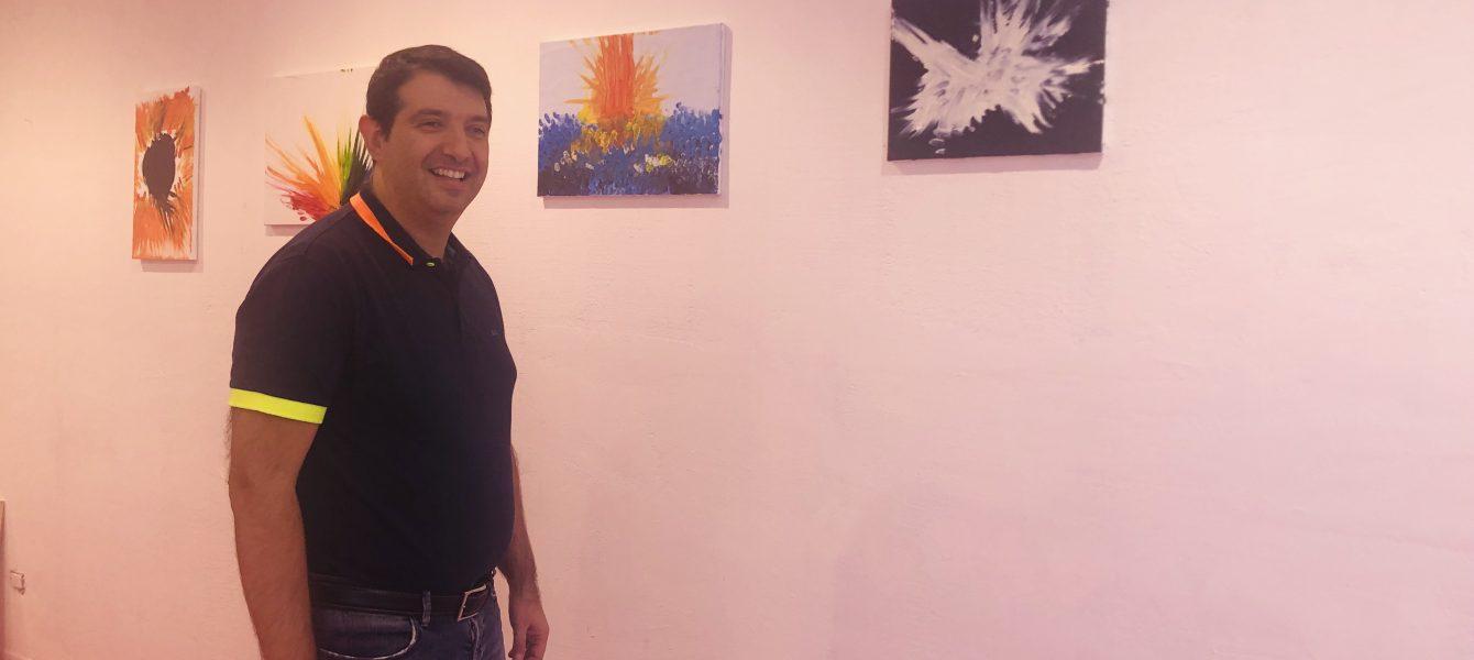 Il pittore cagliaritano Andrea Ferrero
