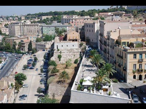 Cagliari, parcheggio sotto il Bastione di Santa Croce: la preoccupazione del Grig