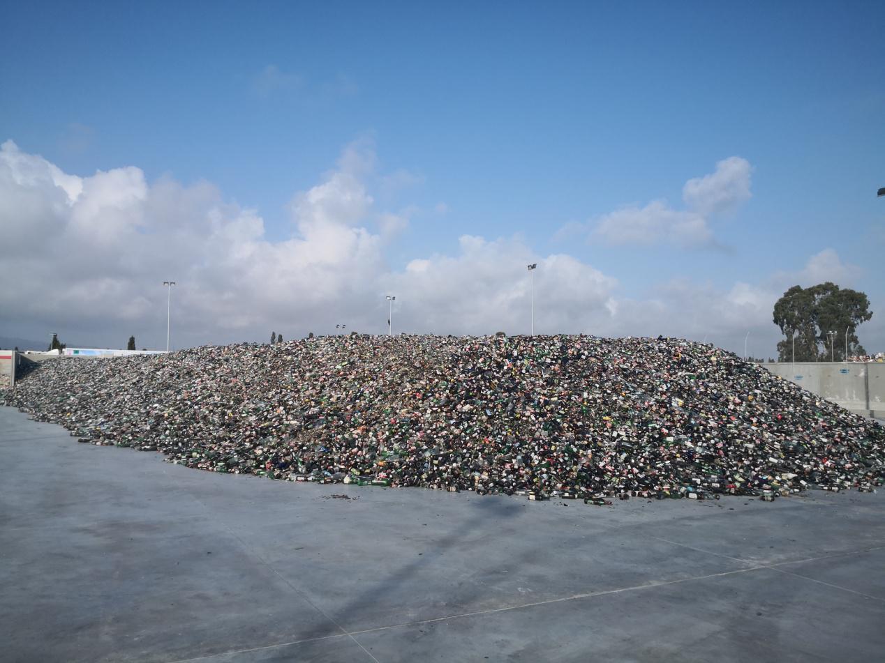 impianto di stoccaggio rifiuti abusivo a Uta