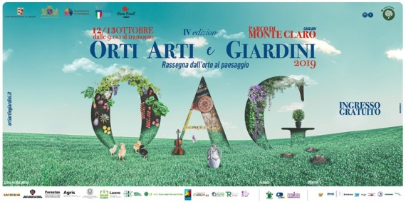 Orti, arti e giardini al Parco di Monte Claro di Cagliari, mostra mercato di produttori alimentari, artigiani e vivaisti