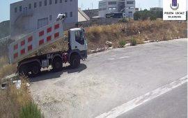 Abbandono di rifiuti a Selargius