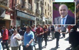 Gianni Chessa sui croceristi a Cagliari