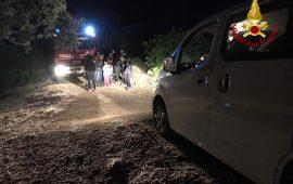 Gonnesa: due famiglie con bambini si perdono in una zona impervia durante una passeggiata. Soccorsi dai Vigili del Fuoco