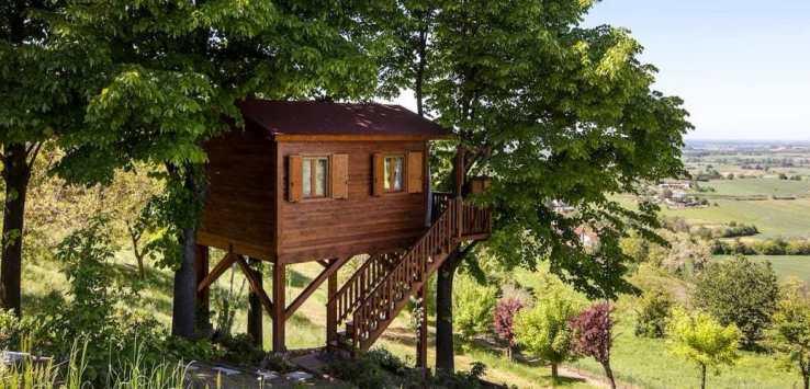 Aromantica Treehouse – San Salvatore Monferrato