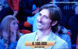 Antonio Cadeddu da Selargius vince 100mila euro a I Soliti Ignoti su Rai 1