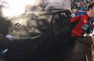 Porto Torres, in fiamme l'auto dell'ex calciatore del Cagliari Langella. Si indaga sull'origine dell'incendio