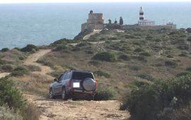 Cagliari, incivile sul Colle di Sant'Elia: arriva con l'auto fino al Fortino di Sant'Ignazio