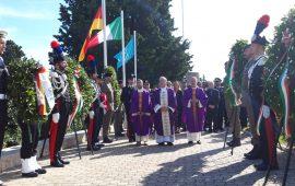 Commemorazione dei caduti in guerra al Cimitero San Michele di Cagliari - 2 novembre 2019