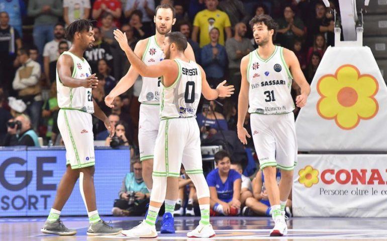 Basketball Champions League: Dinamo Sassari in Belgio, con la vittoria si qualifica agli ottavi