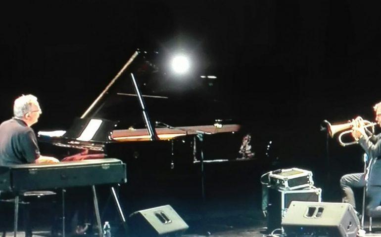 Paolo Fresu e Uri Caine entusiasmano l'Auditorium del Conservatorio di Cagliari