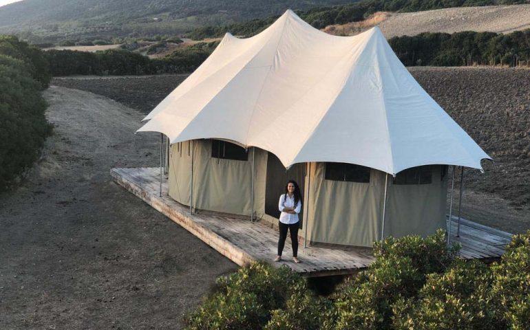 """Startup Sardegna. Glambnb, il """"Booking"""" dei campeggi di lusso ideato da una startupper cagliaritana"""