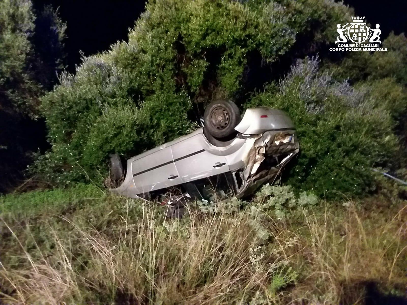 Brutto incidente sulla 195 verso Cagliari, 22enne ferito - vistanet