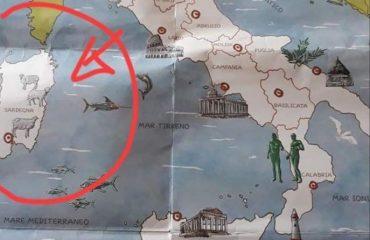 Cartina Politica Sardegna 2017.Le Pecore Rappresentano La Sardegna Sui Libri Di Scuola Cagliari Vistanet